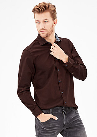 Regular: Oxford shirt with a washed finish from s.Oliver