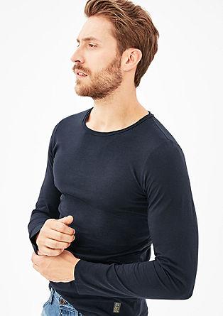 Luchtige longsleeve van jersey