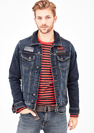 Denim Jacket mit Patches