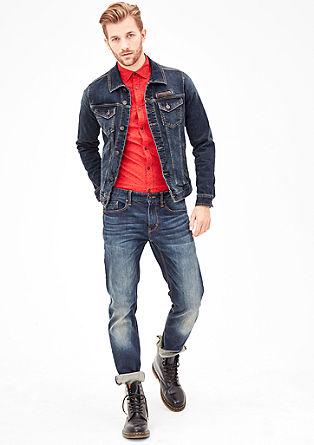 Jeansjacke aus Stretchdenim