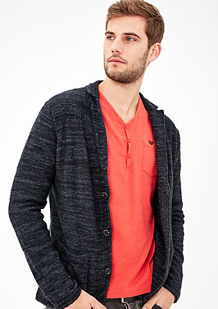 Cardigan in a tailored jacket shape from s.Oliver