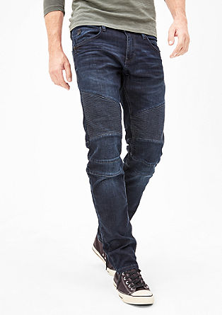 Close Slim: Jeans im Biker-Style