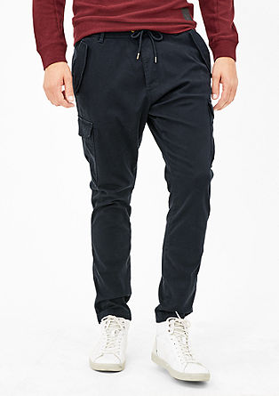 Tubx Jogger: ribbed trousers from s.Oliver