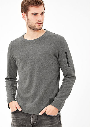 Lightweight piqué sweatshirt from s.Oliver