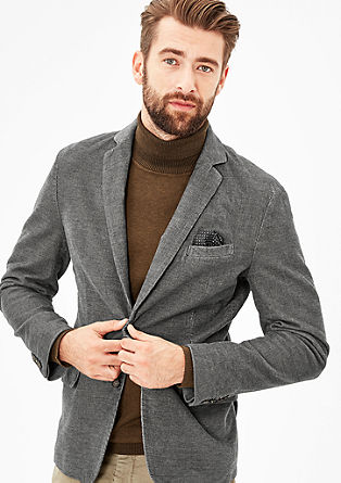 Regular: Corduroy sports jacket from s.Oliver