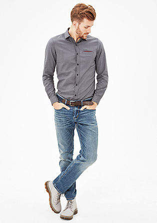 Tubx Straight: jeans with belt from s.Oliver