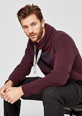 Sweatshirt with a turtleneck from s.Oliver