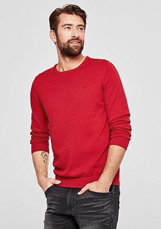 Fino pleten pulover iz bombaža