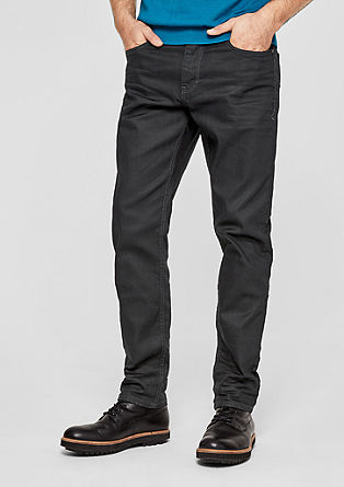 Tubx Straight: Dark Denim