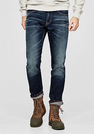 Tubx Regular: Barvne jeans hlače