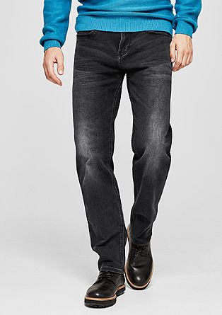 Scube Relaxed: Jeans in Used-Optik