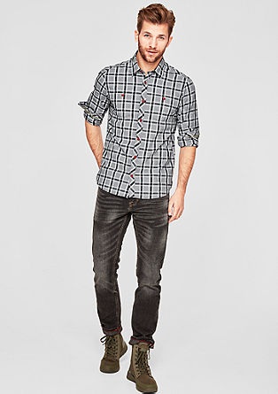 Regular: srajca s karirastim vzorcem