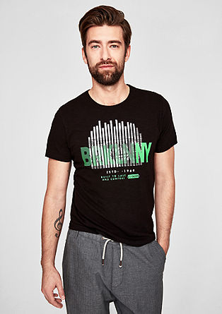 T-Shirt mit City-Print