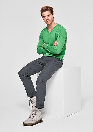 Tubc Tapered : Pantalon en twill stretch de s.Oliver