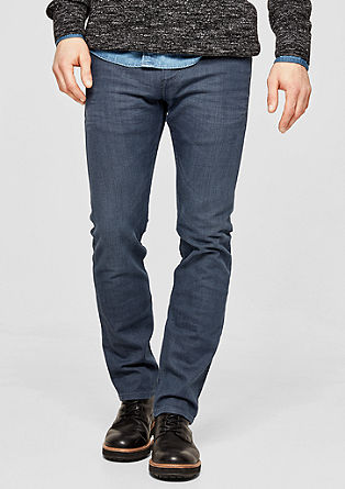 Close Slim: Jeans im Used Look
