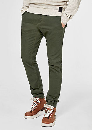 Sneck Slim: stretch twill chinos from s.Oliver