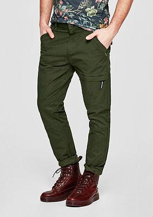 Tubc Tapered: ležérní keprové kalhoty