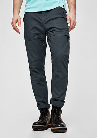 Tubc Tapered: casual twill trousers from s.Oliver