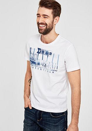 Kratka majica s potiskom spredaj