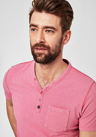 Henley tričko se sepráním
