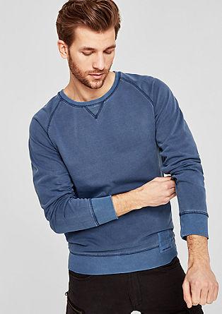 Sproščen bombažni pulover