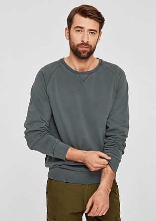 Casual cotton sweatshirt from s.Oliver