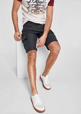 File Loose: Bermudas with a washed finish from s.Oliver