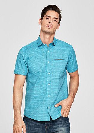 Regular: košile sdrobným vzorem