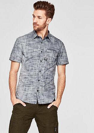 Slim: košile stkanou strukturou