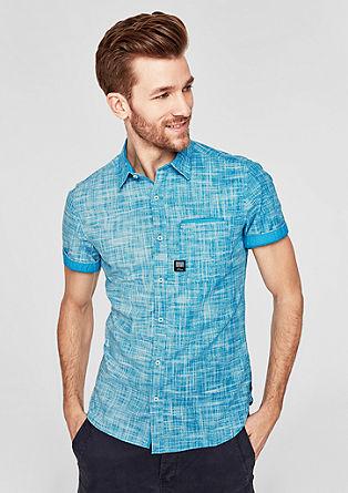 Slim: chemise en tissu structuré de s.Oliver