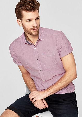 Regular: Fein gestreiftes Hemd