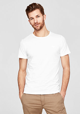 Jersey T-shirt made of pima cotton from s.Oliver