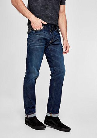 Tubx Regular: obrabljene jeans