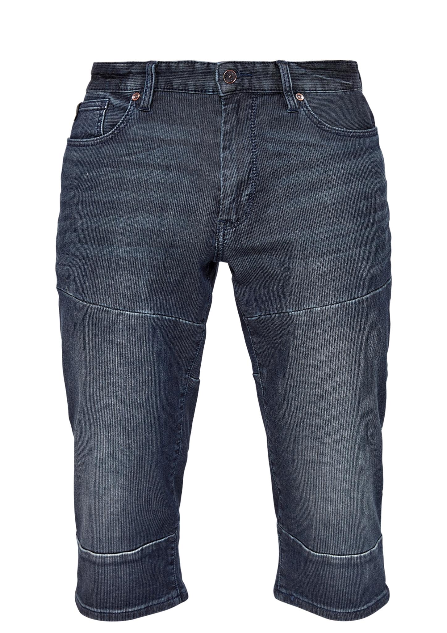 Denim-Bermuda | Bekleidung > Shorts & Bermudas > Bermudas | Blau | Obermaterial 99% baumwolle -  1% elasthan| futter 65% polyester -  35% baumwolle| enthält nichttextile teile tierischen ursprungs (leder-patch) | s.Oliver