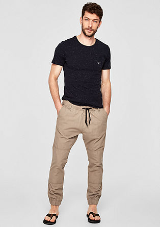 Tubx Jogger: Trousers with a woven texture from s.Oliver
