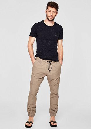 Tubx Jogger: pantalon de texture tissée de s.Oliver