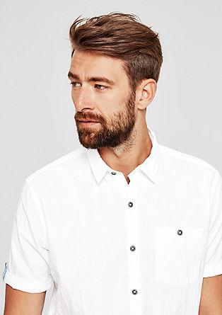 Regular: chemise à carreaux texturés de s.Oliver