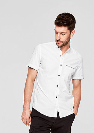 Slim: Shirt with a washed effect from s.Oliver