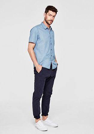 Regular: Lässiges Jeans-Hemd