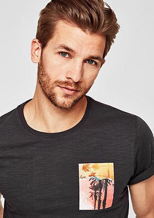 T-shirt à encolure ronde de s.Oliver
