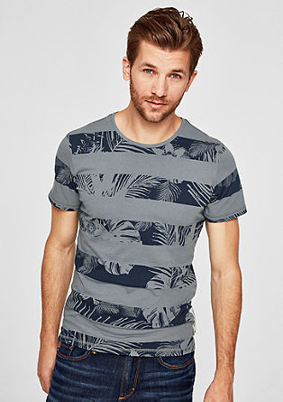 Slim: top with a striped print from s.Oliver