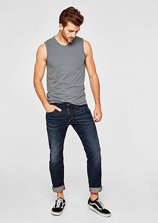 Basic majica brez rokavov iz džersija