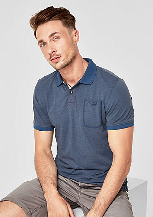 Slim: casual polo shirt from s.Oliver