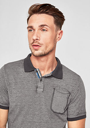Slim: Lässiges Poloshirt