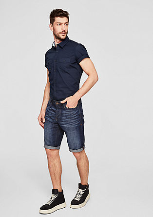 Tubx Straight: Bermuda-Jeans
