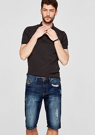 Close Slim : Bermuda en denim de s.Oliver