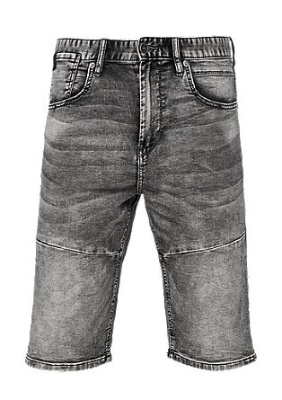 Tubc Tapered: stone-washed shorts from s.Oliver