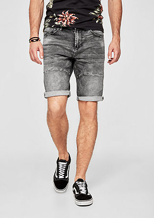 Tubc Tapered: Stone Washed-Shorts