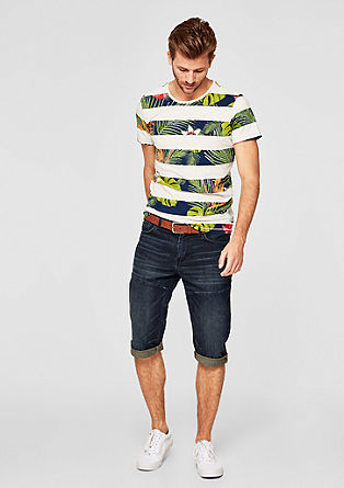 Tubx Regular: Bermudas with a belt from s.Oliver