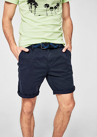 Plek Loose: Chino-Shorts aus Twill